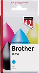 INKCARTRIDGE QUANTORE BRO LC-900 BLAUW 1 Stuk