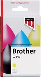 INKCARTRIDGE QUANTORE BRO LC-900 GEEL 1 Stuk