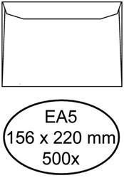 ENVELOP HERMES BANK EA5 156X220 80GR 500ST WIT 500 Stuk