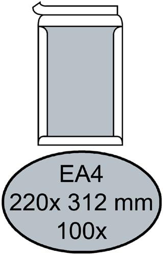 ENVELOP QUANTORE BORDRUG EA4 220X312 ZK 120GR WIT 100 Stuk