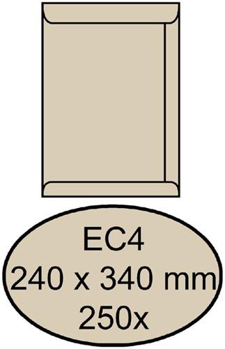 ENVELOP QUANTORE AKTE EC4 240X340 120GR CREMEKRAFT 250 Stuk