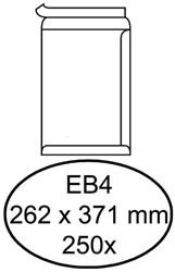 ENVELOP HERMES AKTE EB4 262X371 ZK 120GR 250ST WIT 250 Stuk