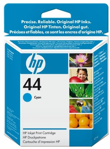 INKCARTRIDGE HP 44 51644CE BLAUW 1 Stuk
