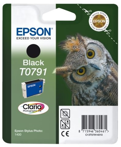 INKCARTRIDGE EPSON T079140 ZWART 1 Stuk