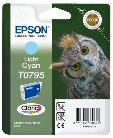 INKCARTRIDGE EPSON T079540 LICHT BLAUW 1 Stuk