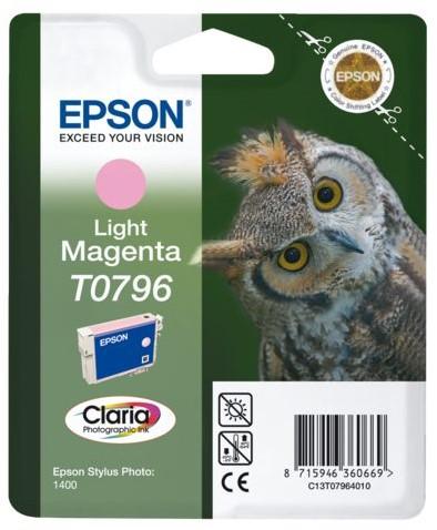 INKCARTRIDGE EPSON T079640 LICHT ROOD 1 Stuk