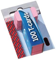 PLANBORD T-KAART A5548-12 15MM ROZE 100 Stuk