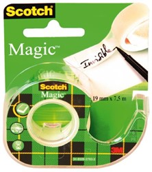 PLAKBAND 3M SCOTCH 12MMX10M MET TAPEHOUDER MAGIC 1 Stuk