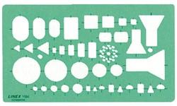 SJABLOON LINEX 1184 ELEKTRO 1 Stuk