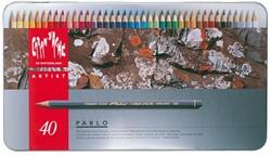 KLEURPOTLOOD CARAN D'ACHE PABLO 40 Stuk