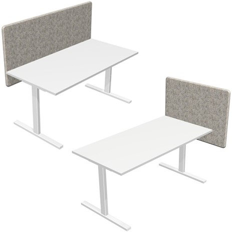 Akoestische wand Desk 760 stofgroep Berta