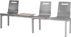 Wachtkamerbank Oscar 3-zits + tafelblad - Verkrijgbaar in verschillende Kleuren