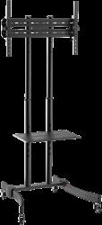 Verrijdbare Monitor standaard met shelf