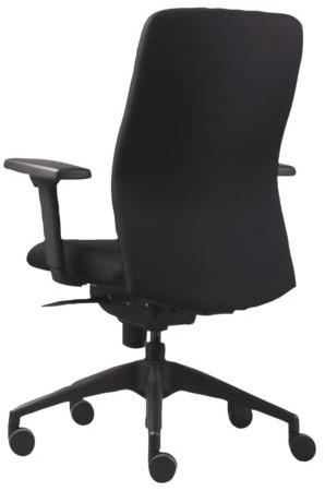 Bureaustoel Stof Zwart.Bureaustoel Vls 03 Zwart Stoffen Bekleding Per Stuk One Stop Office