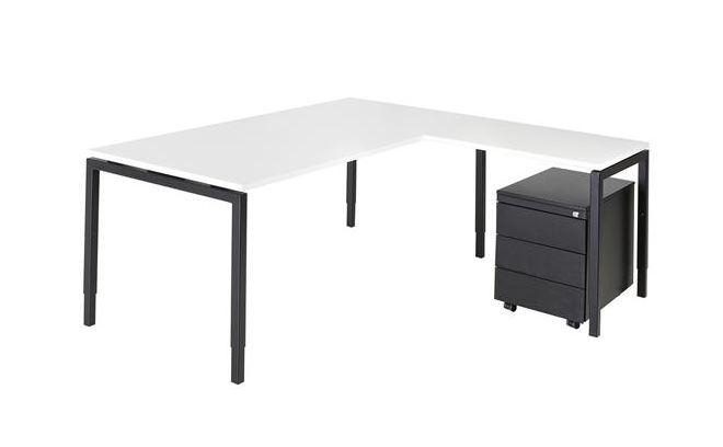 Combinatie bureau 180x80 aanbouw serie 55 incl for Ladenblok keuken