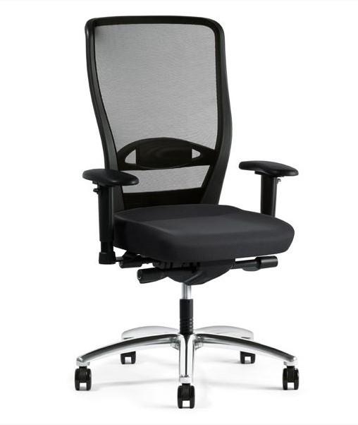 Bureaustoel Met Verstelbare Rugleuning.Bureaustoel Younico Pro 3476 Met Hoge Netbespannen Rugleuning Prijs