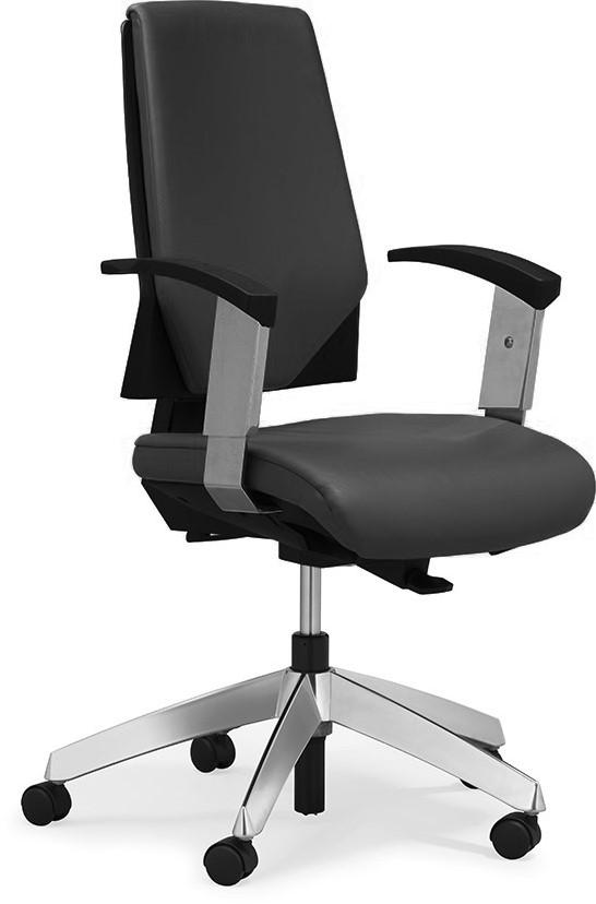 Hoge Bureau Stoel.Goede Giroflex 63 Bureaustoel Met Hoge Gestoffeerde Rug Kopen