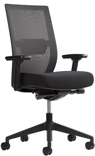 Bureaustoel Office Basic Netweave 3D armleggers