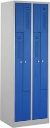 Z-Garderobekast 2 kolommen 59 CM Breed - Verkrijgbaar In Verschillende Kleuren