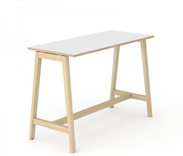 Tafelblad 180 X 85.Hoge Tafel Nova Wood 180 X 70 Cm Licht Essen M1d2 Wit En Amber Oak Wit Houten Frame