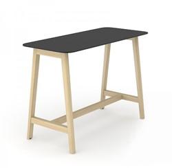 Hoge Tafel Nova Wood HPL - Houten Frame