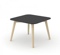 Koffietafel Nova Wood HPL Vierkant - Houten Frame