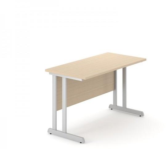 Bureaustoel Vaste Poten.Ondiep Bureau Optima C Geen 120 X 60 Cm U Walnoot Vaste