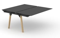 Bench Bureau Nova Wood HPL Uitbreidingselement - Houten Frame