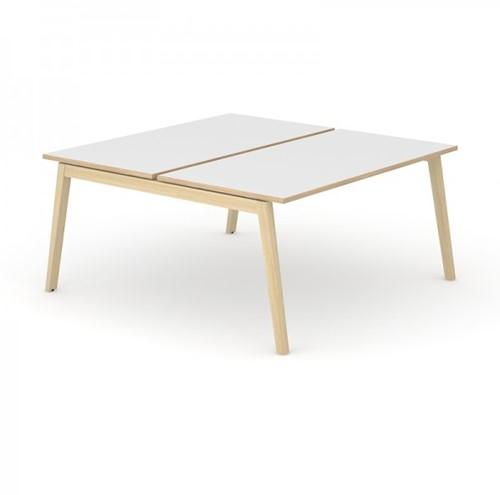 Duo / Bench Bureau Nova Wood - houten frame