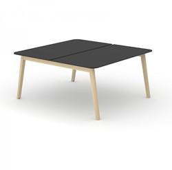 Bench Bureau Nova Wood HPL - Houten Frame