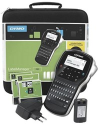 LABELMANAGER DYMO LM280 QWERTY  KOFFER MET ADAPTER EN 2 TAPES 1 Stuk
