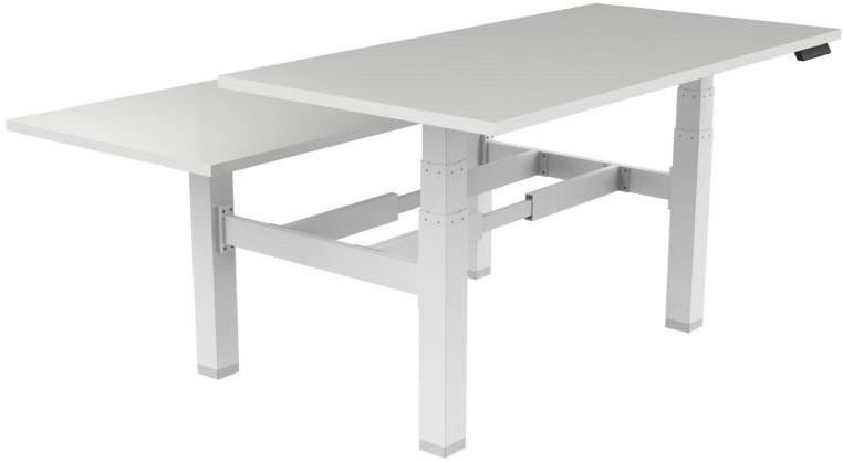 Elektrisch verstelbaar zitsta bureau frame pro duo zwart