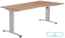 Basic Bureau Alfa Incl. Kabelgoot