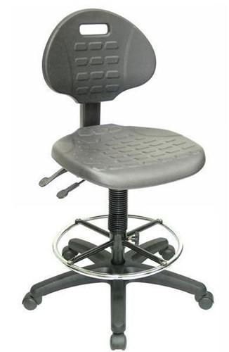 Balie- / werkplaatsstoel 203 chroom