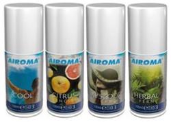 Luchtverfrisser micro airoma geurenmix 4x3x100ml tbv dispenser PrimeSource
