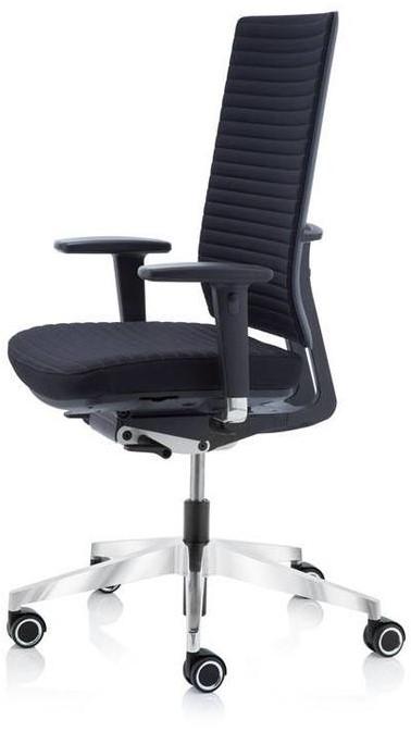 Fijne Zwarte Bureaustoel.Bureaustoel Anteo Up Npr Aruba Tube Zwart 63cm Alu Kruisvoet 5d Armleggers 1 Stuk