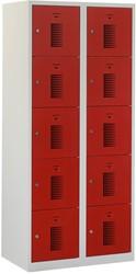 Premium Locker 2 Kolommen 10 Deuren 80 CM Breed - Verkrijgbaar In Verschillende Kleuren