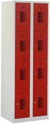 Premium Locker 2 Kolommen 8 Deuren 60 CM Breed - Verkrijgbaar In Verschillende Kleuren