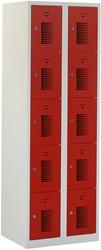 Premium Locker 2 Kolommen 10 Deuren 60 CM Breed - Verkrijgbaar In Verschillende Kleuren