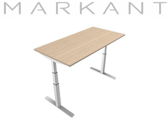 Elektrisch verstelbaar zitsta bureau frame matrix markant