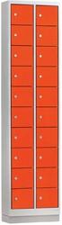 Locker Mini 2 Kolommen 20 Deuren 46 CM Breed - Verkrijgbaar In Verschillende Kleuren