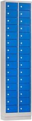 Locker Mini 2 Kolommen 30 Deuren 46 CM Breed - Verkrijgbaar In Verschillende Kleuren