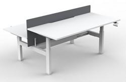Slinger Verstelbaar Zitsta Bureau Frame Move 113 Duo - Wit