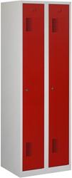 Premium Garderobekast 2 Deuren 60 CM Breed - Verkrijgbaar In Verschillende Kleuren