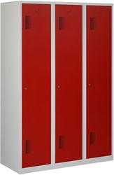 Premium Garderobekast 3 Deuren 120 CM Breed - Verkrijgbaar In Verschillende Kleuren