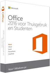 Microsoft Office 2016 voor Thuisgebruik & Studenten 1 PC (NL)