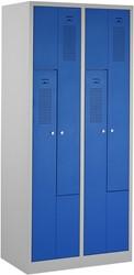 Z-Garderobekast 2 kolommen 80 CM Breed - Verkrijgbaar In Verschillende Kleuren
