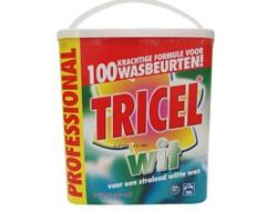 WASMIDDEL PROFESSIONAL WIT 7,5KG TRICEL 1 STUK